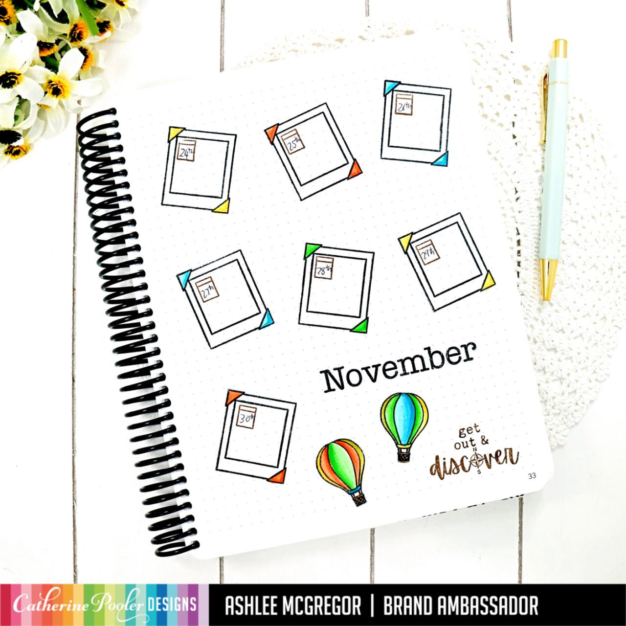November, Catherine Pooler Clear Stamps -   819447028849
