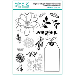 Seasons of Joy, Gina K Designs Clear Stamps -