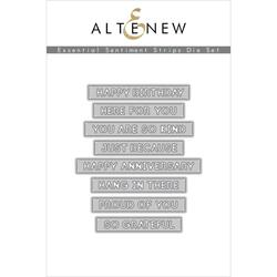 Essential Sentiment Strips, Altenew Dies - 737787270578