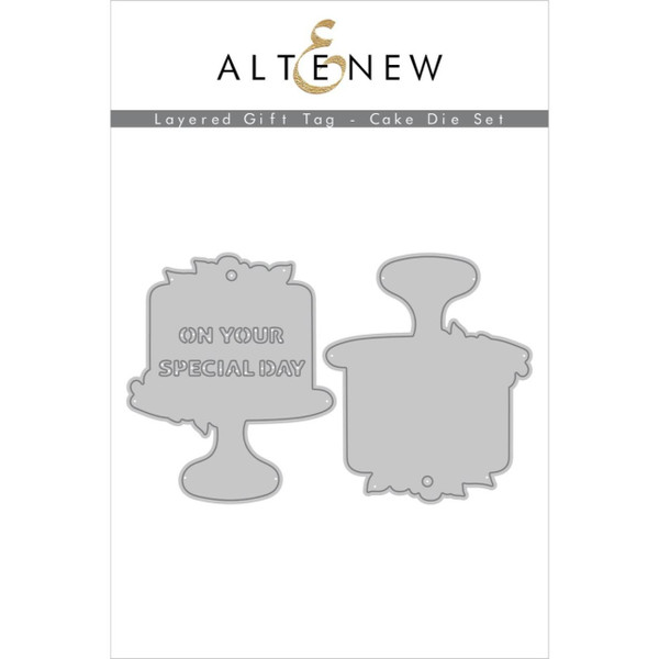 Layered Gift Tag - Cake, Altenew Dies - 737787270615