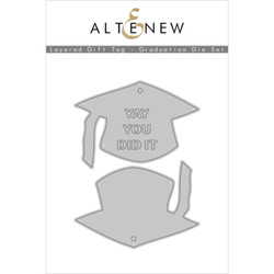 Layered Gift Tag - Graduation, Altenew Dies - 737787270639