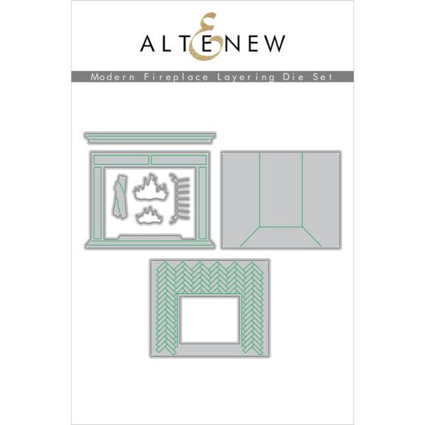 Modern Fireplace, Altenew Dies - 737787270691
