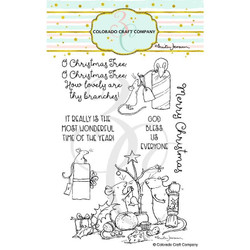 Wonderful Time by Anita Jeram, Colorado Craft Company Clear Stamps -