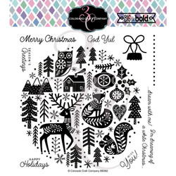 Nordic Ornament, Colorado Craft Company Clear Stamps -