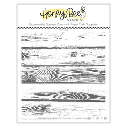 Barn Wood Background, Honey Bee Clear Stamps - 652827599658