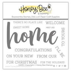 Home, Honey Bee Clear Stamps - 652827599610