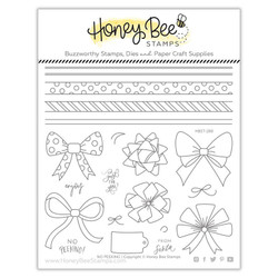 No Peeking, Honey Bee Clear Stamps - 652827599641