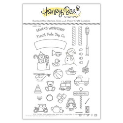Toy Store House Builder Add-On, Honey Bee Clear Stamps - 652827599726