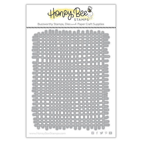 Burlap A2 Background, Honey Cuts Dies - 652827599887