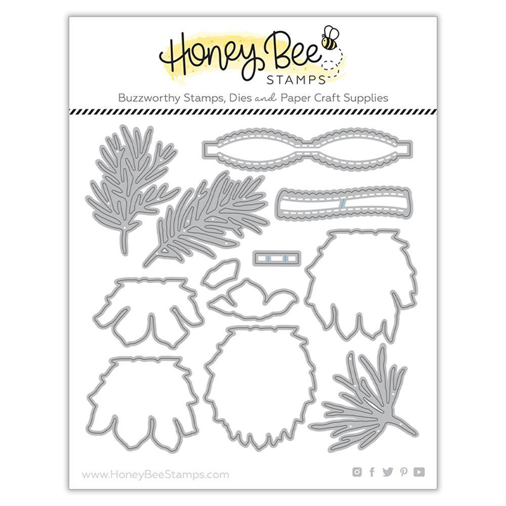Lovely Layers Pinecone, Honey Cuts Dies - 652827599948