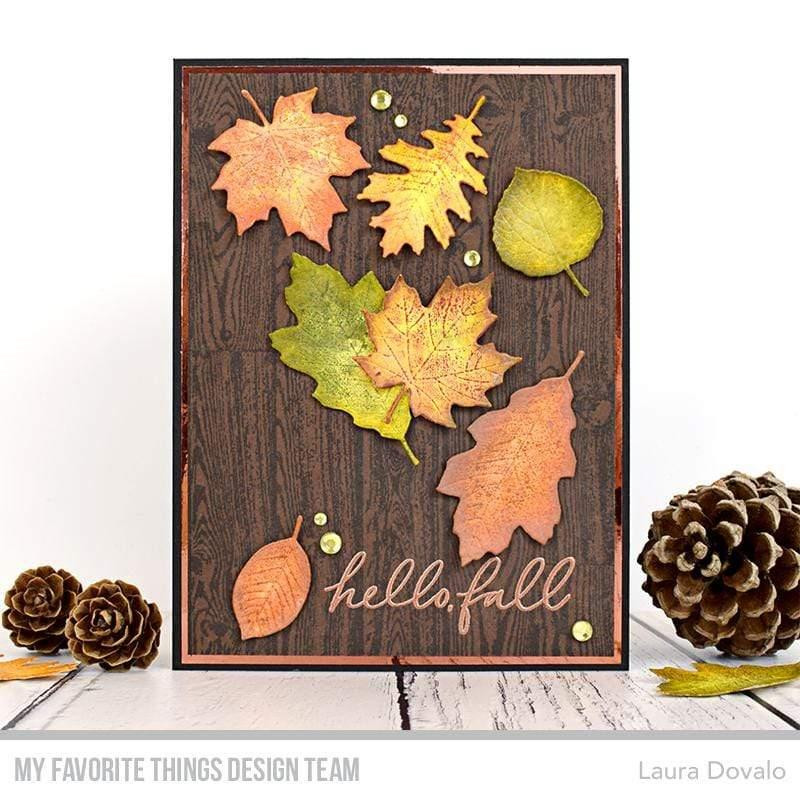 Wood Plank, My Favorite Things Cling Stamps - 849923037461