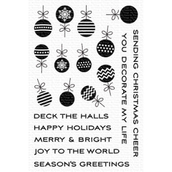 Ornament Banner Builder, My Favorite Things Clear Stamps - 849923037454
