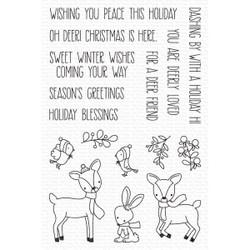 Dashing Deer, My Favorite Things Clear Stamps - 849923037430