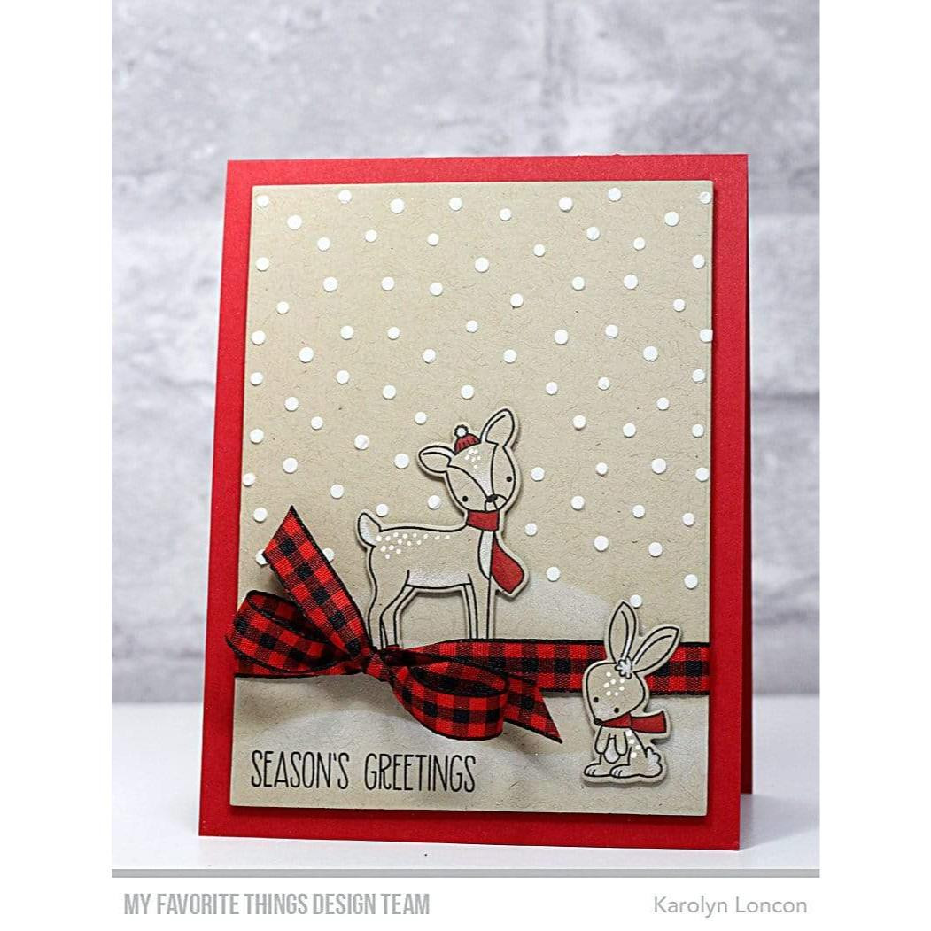 Dashing Deer, My Favorite Things Clear Stamps - 849923037430