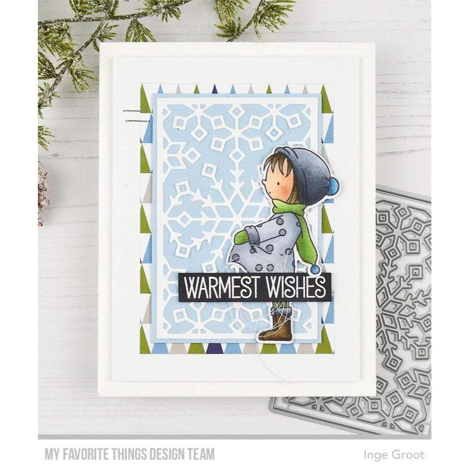 Warmest Wishes by Birdie Brown, My Favorite Things Clear Stamps - 849923037416