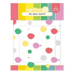 Ink Spots, Waffle Flower Stencils - 780348639826