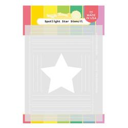 Spotlight Star, Waffle Flower Stencils - 780348639901