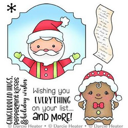 Santa's List, Darcie's Clear Stamps -