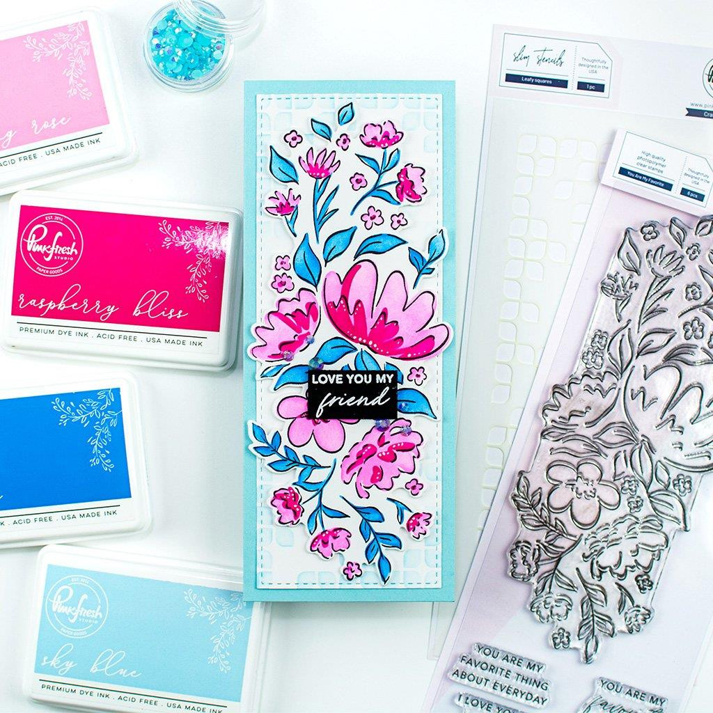 You Are My Favorite, Pinkfresh Studio Clear Stamps - 736952868664