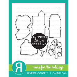 Home for the Holidays, Reverse Confetti Cuts -