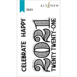 2021, Altenew Clear Stamps -