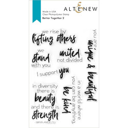Better Together 2, Altenew Clear Stamps -
