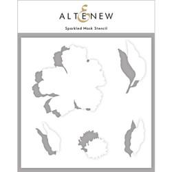 Sparkled, Altenew Mask Stencil -
