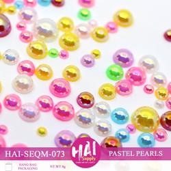 Pastel Pearls, HAI Sequins -