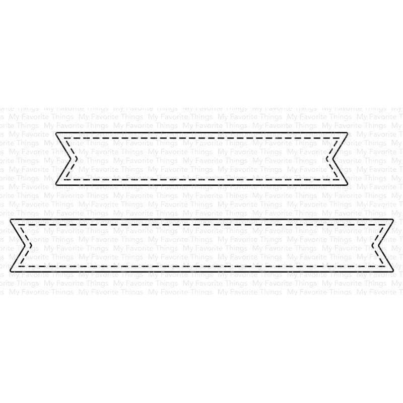Essential Stitched Sentiment Strips, My Favorite Things Die-Namics -