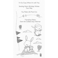 Frost-Loving Friends by Stacey Yacula, My Favorite Things Clear Stamps -
