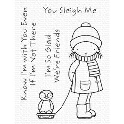 Pure Innocence - You Sleigh Me, My Favorite Things Clear Stamps -