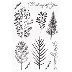 Wonderful Woods, My Favorite Things Clear Stamps -