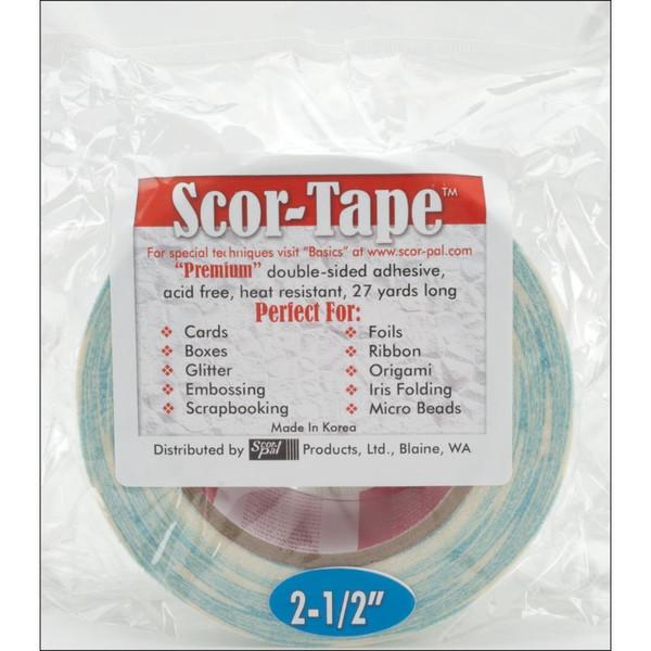 Scor-Tape 2.5' (63.5mm), Scor-Pal Tape -