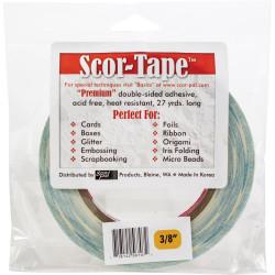 Scor-Tape 3/8' (9.5mm), Scor-Pal Tape -
