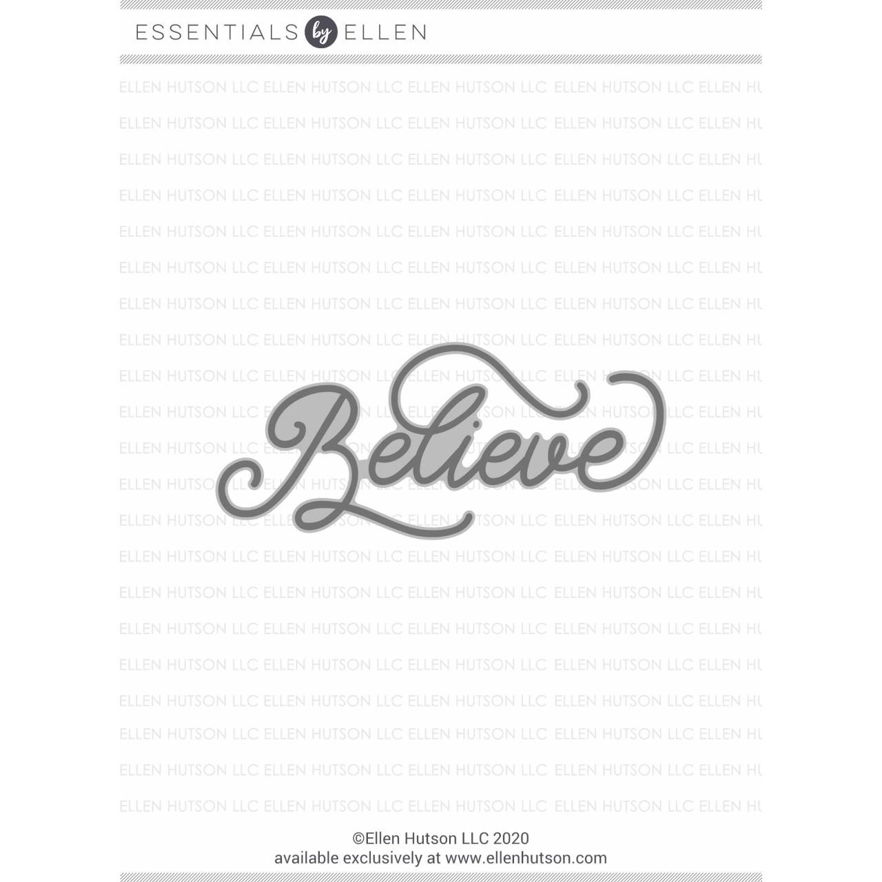 Believe by Julie Ebersole, Essentials by Ellen Hot Foil Stamps -