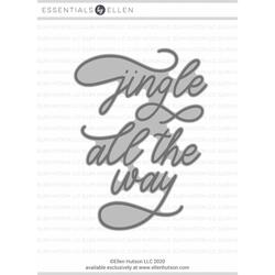 Jingle All the Way by Julie Ebersole, Essentials by Ellen Hot Foil Stamps -