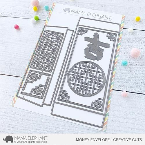 Money Envelope, Mama Elephant Creative Cuts -