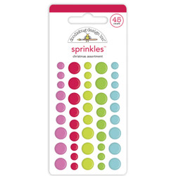 Christmas Assortment, Doodlebug Sprinkles - 842715069411