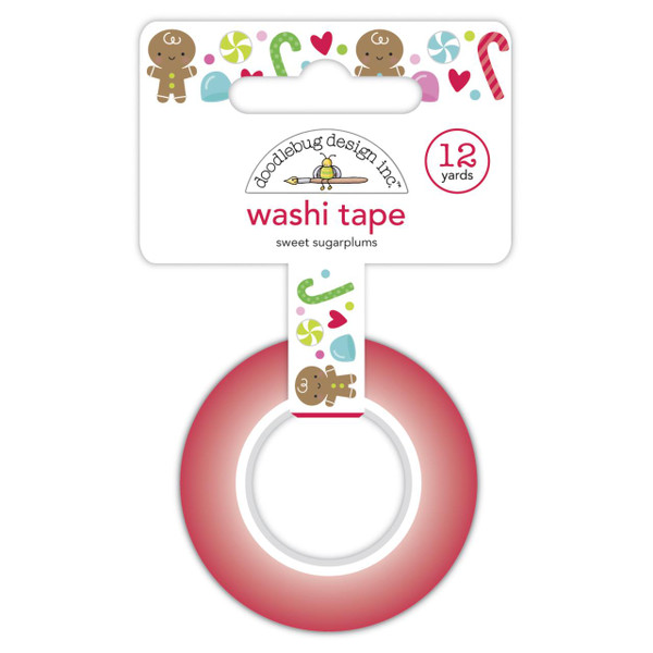 Sweet Sugarplums, Doodlebug Washi Tape - 842715069305