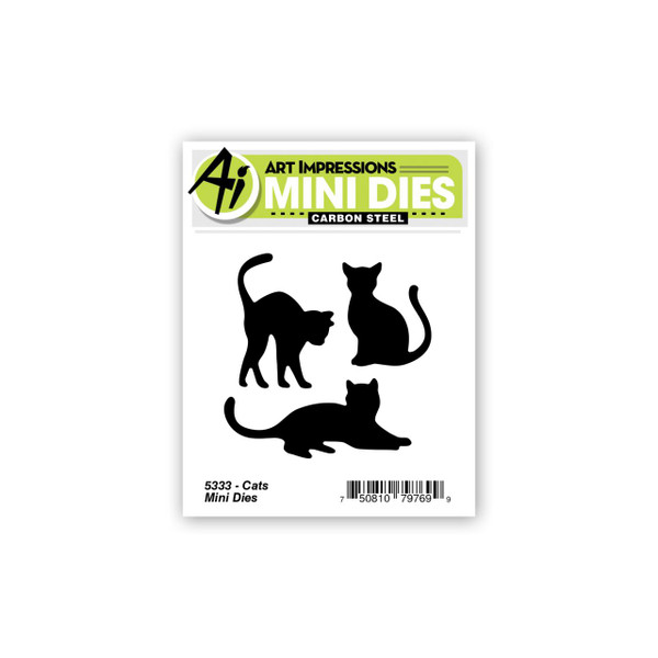 Cats Mini, Art Impressions Dies -