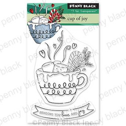 Cup of Joy, Penny Black Clear Stamps -
