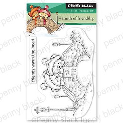Warmth of Friendship, Penny Black Clear Stamps -
