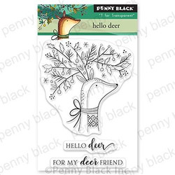 Hello Deer, Penny Black Clear Stamps -
