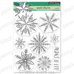 Snow Charm, Penny Black Clear Stamps -