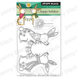 Hoppy Holidays, Penny Black Clear Stamps -