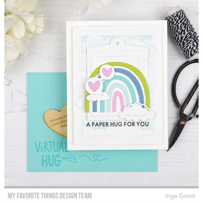 I Miss Your Hugs, My Favorite Things Clear Stamps - 849923037904