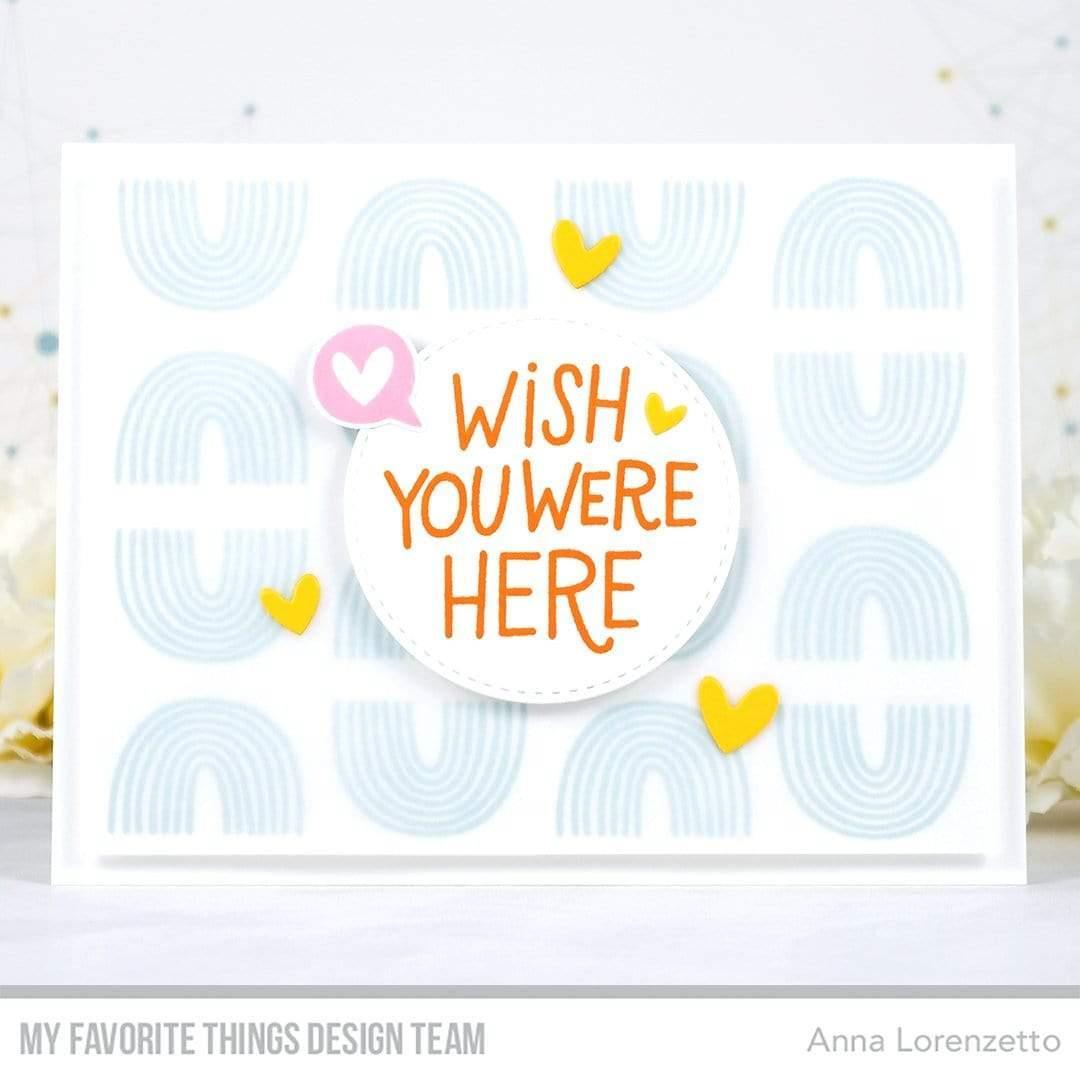 I Miss Your Hugs, My Favorite Things Die-Namics - 849923037966