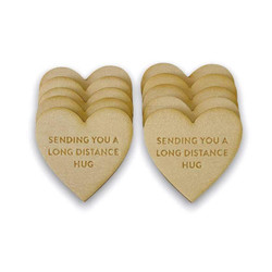 Long Distance Hugs Friendship Tokens, My Favorite Things - 849923037928