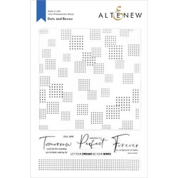 Dots and Boxes, Altenew Clear Stamps - 737787272299