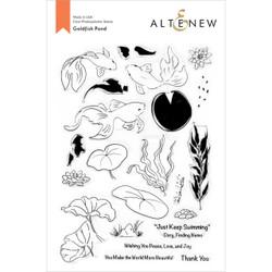 Goldfish Pond, Altenew Clear Stamps - 737787272305